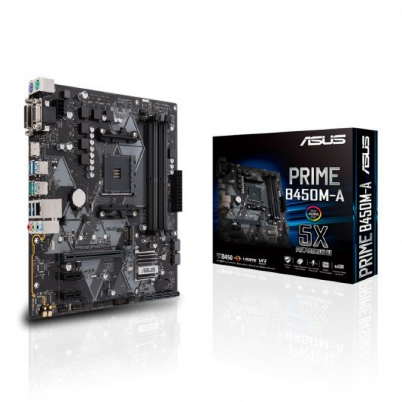 Motherboard AMD: Asus Prime B450M-A