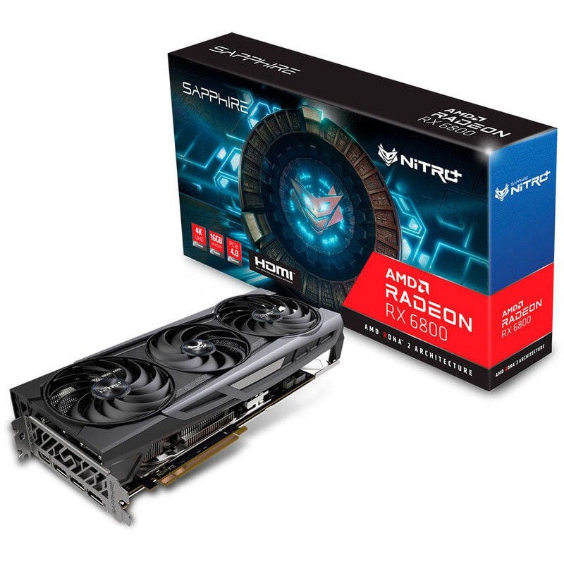 Gráfica: RX 6800 Gaming Radeon Ultra 16GB