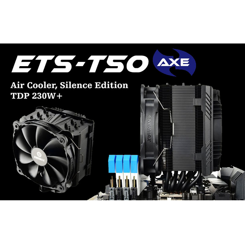 CPU Cooling: AR Enermax ETS-T50 AXE Silent