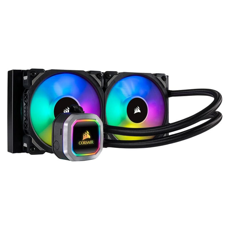 CPU Cooling: Corsair Liquid RGB H100i