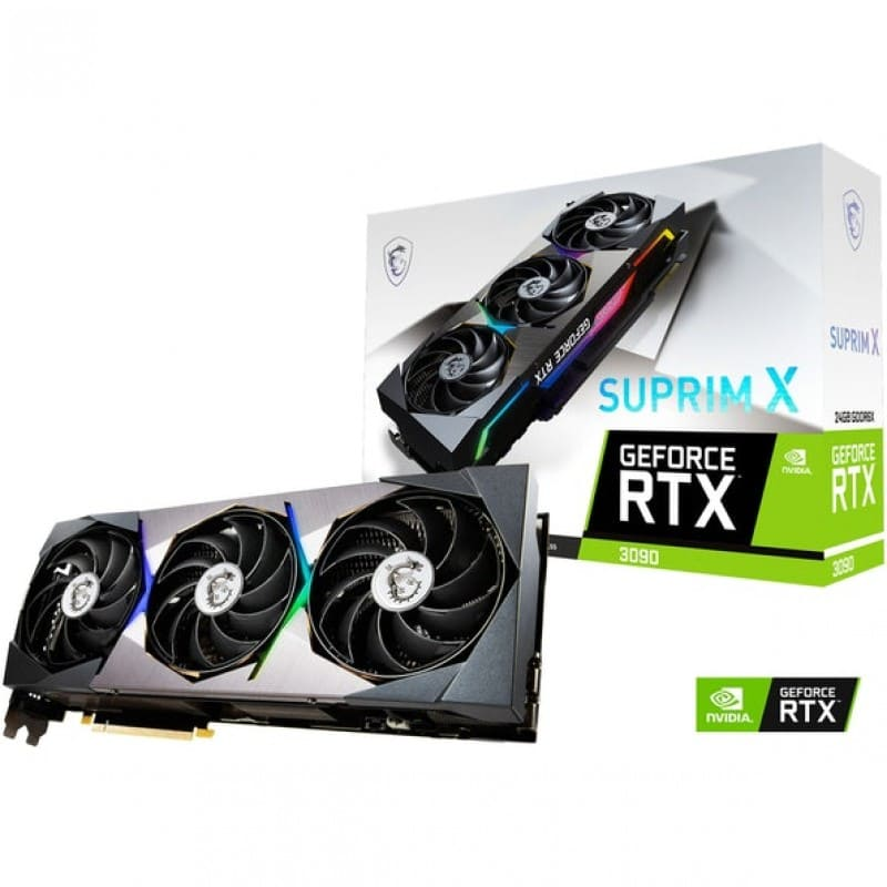 Gráfica: (Consulte) RTX 3090 Geforce X