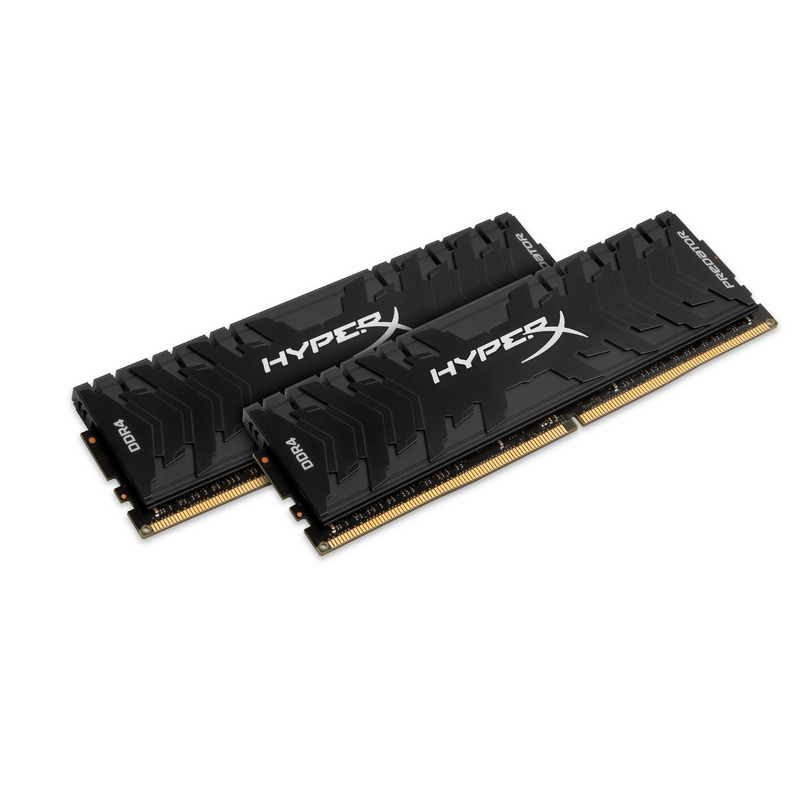 Memória: 32GB Kingston CL15 2x16GB