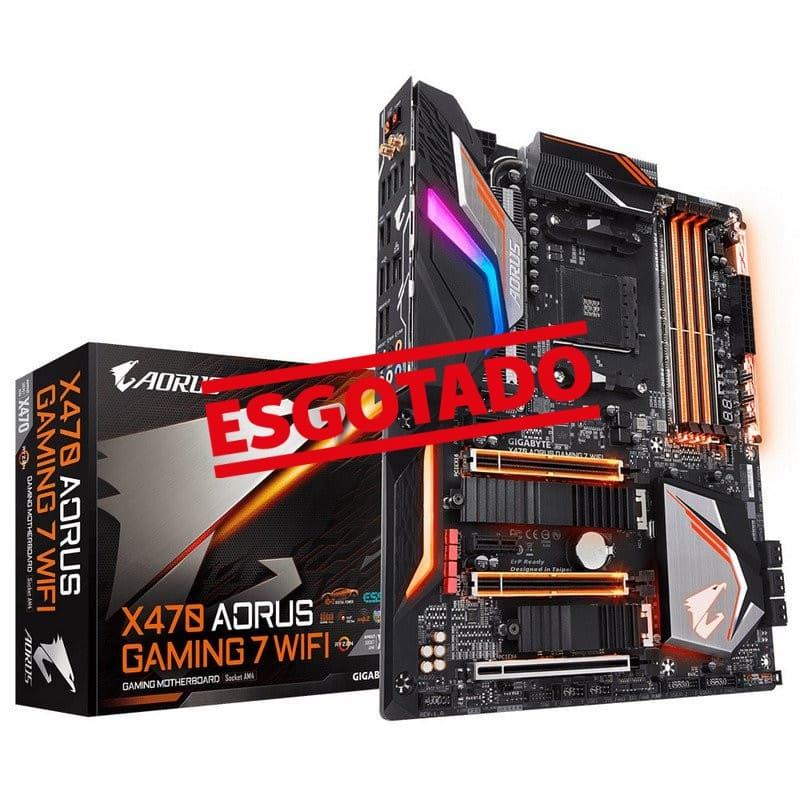 AMD Motherboard ATX X470 Aorus Gaming 7 WiFi